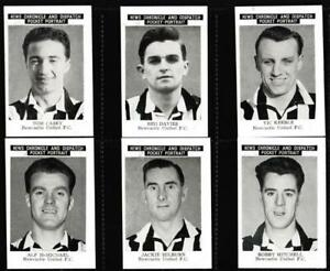 News Chronicle - 'Newcastle United FC' - (1955) - Complete Set