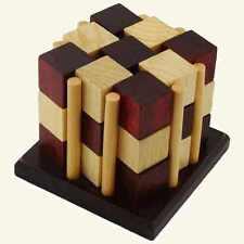 Checkered Cubes 3d Put Together Brainteaser