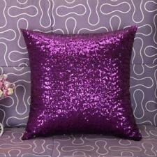 Hot Glitter Sequins Pillow Case Throw Waist Cushion Cover Cafe Car Home Decor