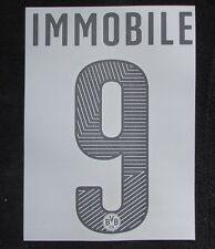 BVB 09 Borussia Dortmund IMMOBILE Player Flock 25cm fü.PUMA Home Trikot 2014-15