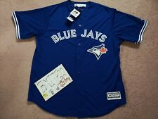 NWT Toronto Blue Jays Majestic Blank Cool Base Men Jersey XL X-Large