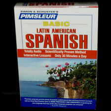 NEW 5 CD Pimsleur Learn to Speak Latin American SPANISH language Course SEALED