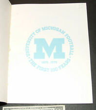 University of Michigan Football the first 100 years 97