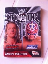 Mini ALBUM  KING OF THE RING  Merlin 2005 Incompleto 24/40 stickers wrestling