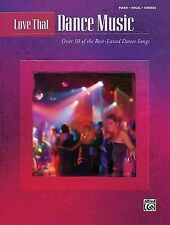 NEW Love That Dance Music: Piano/Vocal/Chords by Hal Leonard Corp.