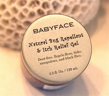 BABYFACE NATURAL ORGANIC BUG REPELLENT & ITCH RELIEF DEET & CHEMICAL FREE