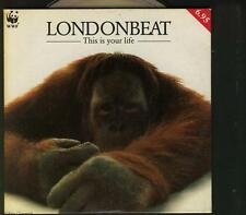 LONDONBEAT This Is Your Life - Falling In Love Again DUTCH CHARITY CD SINGLE WWF