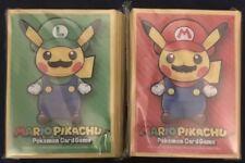 Pokemon Card Japanese Mario and Luigi Pikachu Deck Sleeve XY special box SEALED!