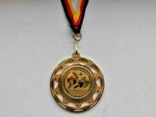 Tischtennis Pokal Kinder 10 x Medaillen mit Band&Emblem Turnier Pokale (e109)