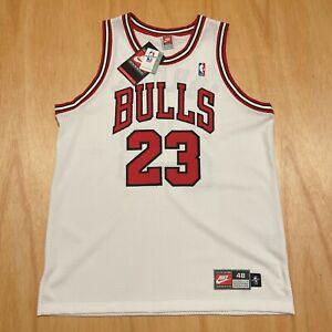 100% Authentic Michael Jordan Vintage Nike 97 98 Bulls Jersey Size 48 XL