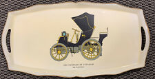 Vintage Beverage Tray Lacquerware Large Tray Made in Japan