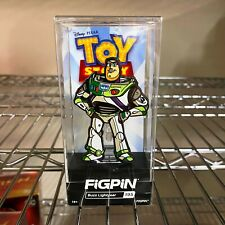 Disney Pixar Toy Story 4 FiGPiN : Buzz Lightyear 195 Collector Pin Hard Case