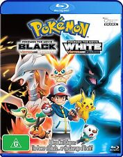Pokemon The Movie 14 - Black And White (Blu-ray, 2012) Region B