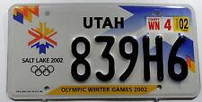 "TARGA USA UTAH ""Salt Lake 2002 Olympic Games"". 11314."