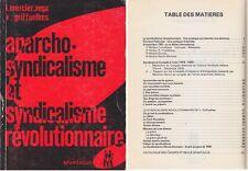 C1 ANARCHO SYNDICALISME ET SYNDICALISME REVOLUTIONNAIRE Spartacus 1978 Anarchie