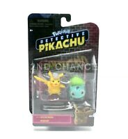 New 2019 Pokemon Detective Pikachu BULBASAUR & PIKACHU Mini 2 Pack Figure