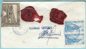 GUATEMALA 1979 REGISTERED AND INSURED COVER WITH WAX SEALS  (WS404)