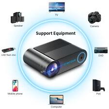 CRENOVA Projecteur vidéo multi-écrans LED avec WiFi sans fil 3D pour OS Android