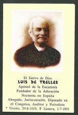 Estampa del Siervo Luis andachtsbild santino holy card santini