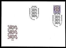 ESTONIA 1996 FDC SC# #  314  Natl. Arms