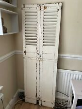 More details for antique shutters   vintage french bi-fold shutter   photography prop interiors
