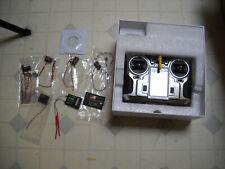 "FlySky FS-i10 2.4g 10Channel Transmitter 3.55""LED Screen FS-IA10B Receiver"