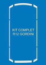 Stickers autocollants bandes complètes Renault Gordini R12