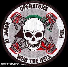 USAF 407TH EXPEDITIONARY LOGISTICS READINESS SQ - POL FLIGHT - ORIG. PATCH