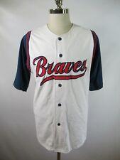 E4616 VTG STARTER Atlanta Braves MLB Baseball Jersey Size L