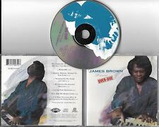 CD 8 TITRES JAMES BROWN LOVE OVER-DUE DE 1991 PRESSAGE FRANÇAIS  510 079-2