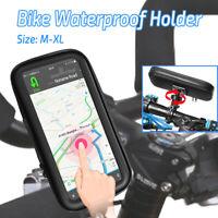 Bicycle Motorcycle Phone Holder Waterproof Bike Phone Case Bag for Samsung US