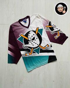 1996 | Mighty Duck Anaheim NHL Vintage Starter Home Jersey Hockey 90s Fanimation