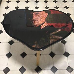 Nightmare on Elm street Freddy Krueger Heart Shape Coffee Table Awesome Gift