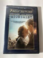 Atonement (DVD, FULL FRAME) - New Sealed Keira Knightley James Mcavoy