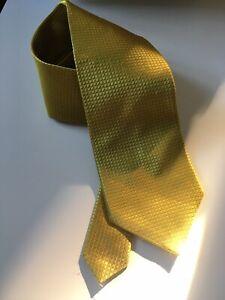 Debenhams Mustard Gold Tie
