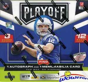 2016 Panini Playoff Football Factory Sealed HOBBY Box-2 AUTOGRAPH/MEMORABILIA !