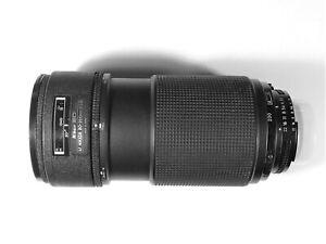 Nikon ED AF Nikkor 80-200mm f:2.8 lens, great condition