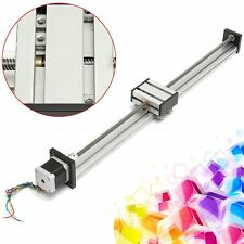 500mm Long CNC Lead Screw Linear Actuator Slide Stroke Stage + 42 Stepper Motor