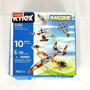K'NEX Imagine Fly Away Building Set 113 Pieces (Box Damage - Sealed Inside)
