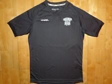 INARIA Youth Kids Dark Gray Extra Large V-Neck Athletic XL Soccer Jersey Shirt