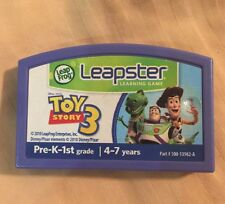 Leapster Leap Frog Toy Story 3 Game Only Cartridge PreK-1 4-7 Tested Disney Pixa