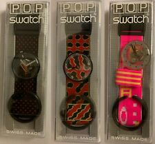1987 Pop Swatch Watch w/ Case - BRAND NEW! SEVERAL TO CHOSE FROM!