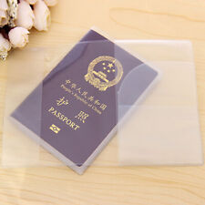 5x Waterproof Clear Transparent Certificate Passport Cover Holder Case Protector