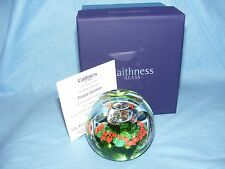 Caithness Glass Paperweight World War One Poppy Garland L17029 WW1 NEW Boxed