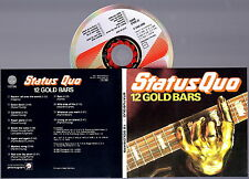 STATUS QUO - 12 Gold Bars CD (Digipack Remasterd) RARE IMPORT