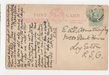 Mr E Ll Armstrong Notts Bank House Long Eaton 1908 357a