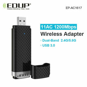 EDUP 1200Mbps High Speed Dual Band USB 3.0 WIFI Adapter Receiver Ethernet 1617