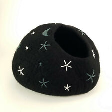 Starry Night Walking Palm Cat Cave Pet Bed Large For Cats and Dogs