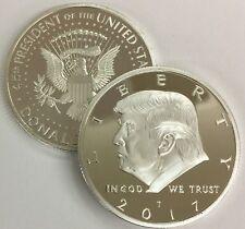 2017 Donald Trump Republican US Eagle USA Collection Coin Capsule Silver Colored