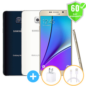 Samsung Galaxy Note 5   Factory Unlocked   GSM ATT T-Mobile   32GB 64GB   Mint
